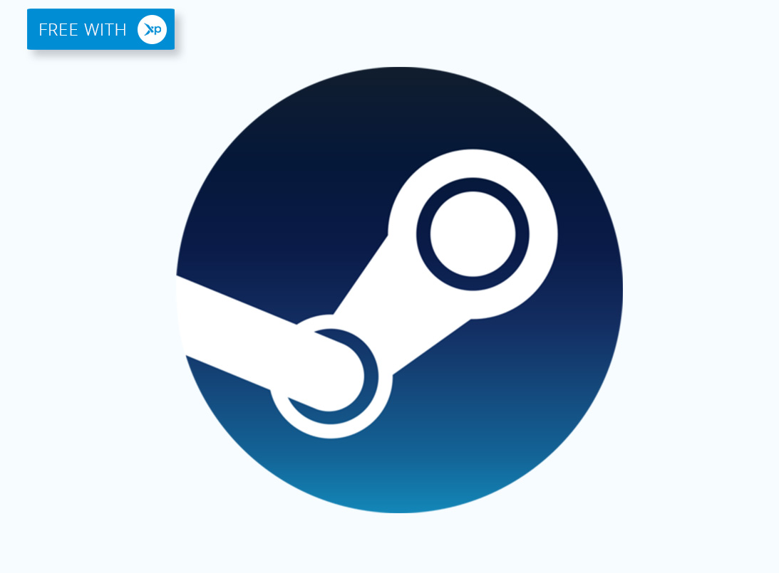 Famous Steam logo for Free Steam Keys
