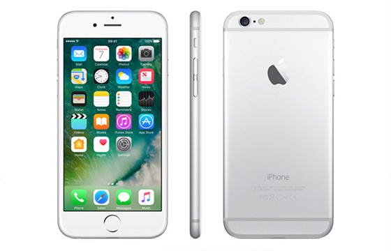 free iphone 6 in white