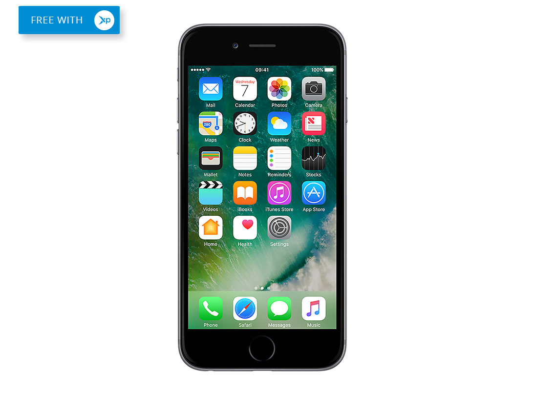 Free iPhone 6 plus in black
