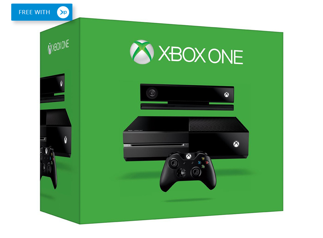 free Xbox one in green box
