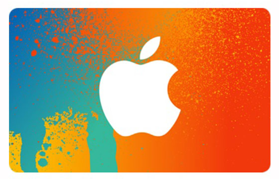 nice orange free iTunes gift cards