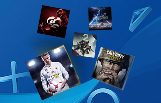 huge collection of PS PLUS FREE GAMES