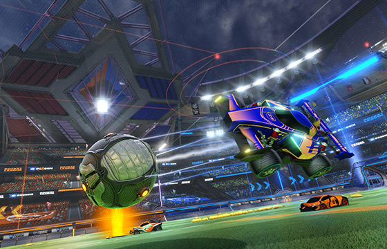 Save goals in Rocket league free
