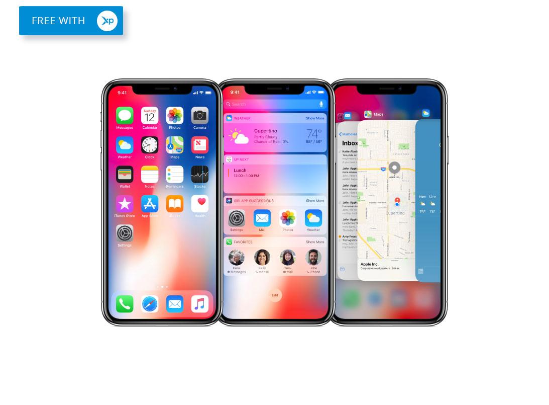 Free iPhone X unlocked