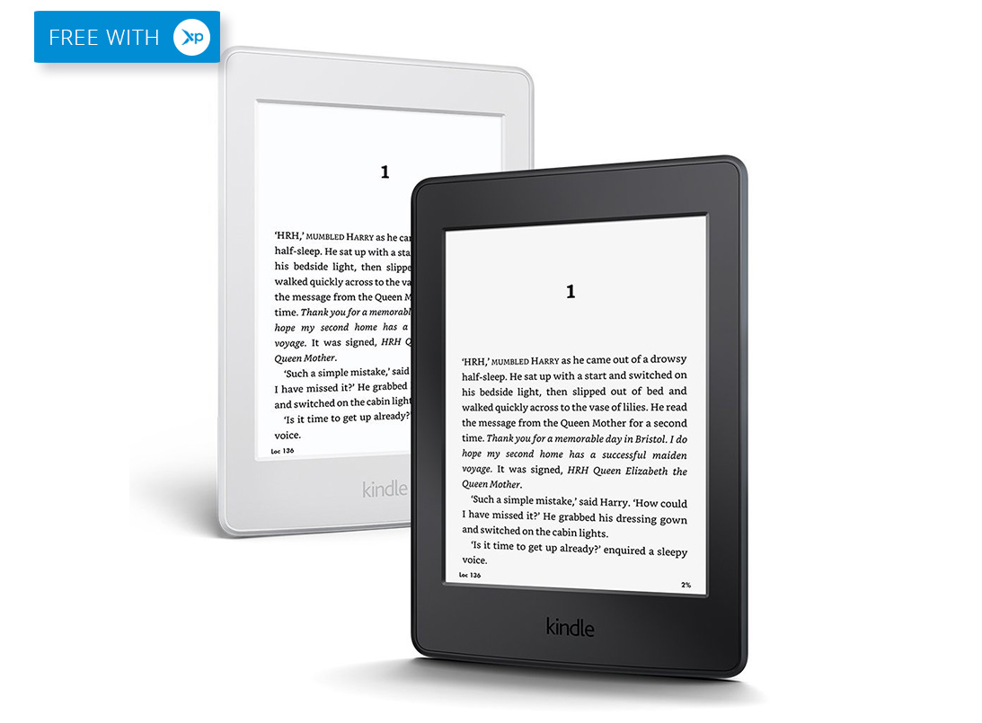 free amazon kindle paperwhite from xpango